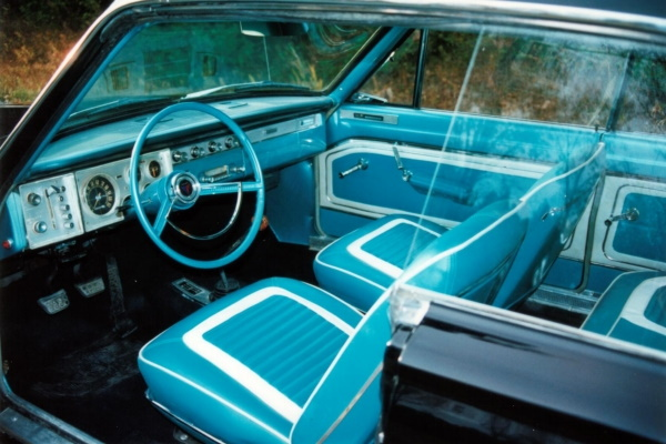 64 Valiant Interior